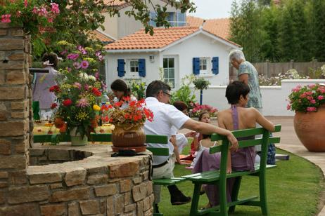 Chambres d 39 h tes chez bernadou machecoul for Puits decoratif jardin
